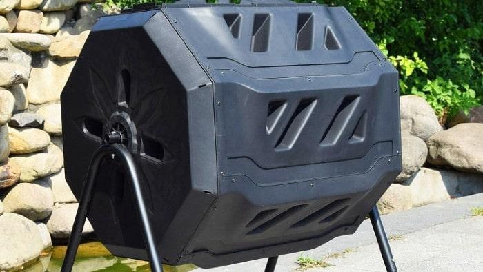 Vamos a compostear con la nueva Compostera Giratoria